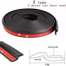 "Car Window Door 160"" Z-shape Rubber Seal Weather Strip Hollow Weatherstrip Pad"