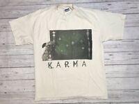Vintage Rick Springfield Karma Tour Shirt Mens Large 1998 1999 Concert Rock