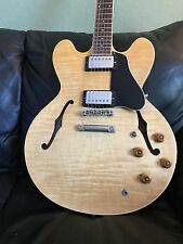 Gibson ES 335 Natural flametop