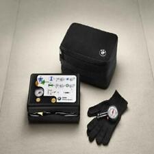Bmw Oem Genuine Tire Mobility Kit w/Compressor Gloves Pressure Gauge 71102333674