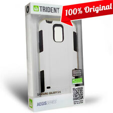 NEW Trident Aegis Case Hybrid Military Grade White Cover for Samsung Galaxy S5