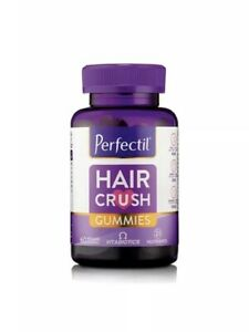 2 X Perfectil Hair Crush Gummies Vitabiotics 60 Vegan Skin Nails Multivitamins