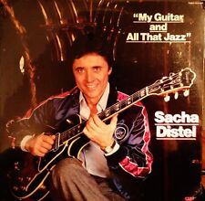 Sealed SACHA DISTEL LP - My Guitar And All That Jazz  - 1983 PABLO CARRERE