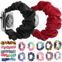 Fashion Scrunchie Elastic Watch Band for Apple Watch Band 38/42mm Bracelet Strap