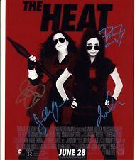 [1691] The HEAT Cast Signed 10x8 Photo AFTAL