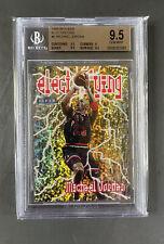 1998-99 Fleer Tradition Electrifying Michael Jordan BGS 9.5 GEM MINT