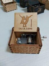 Manovella in legno LALALAND Music Box, CARILLON meccanismo 18 note 0279