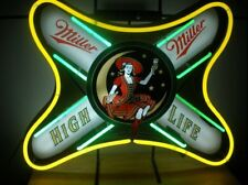 "New Miller High Life Beer Neon Light Sign 24""x20"""