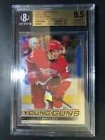 2018-19 Upper Deck Michael Rasmussen Young Guns Rainbow Foil Rookie BGS 9.5