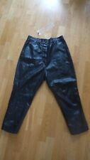 """RUNDHOLZ Black Label """"leather"""" pants with low crotch size S(M)"""