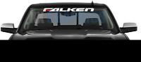 Falken Tires logo NEW Windshield Vinyl Banner Graphic Decal Sticker