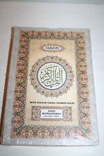 NEW Hafezi Quran Koran Color Coded Tajweed Rules Art paper rainbow Islam Muslims