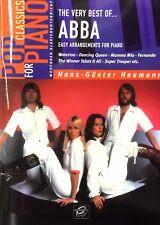 The very best of ABBA 1 Hans-Günter Heumann Easy Arrangements for Piano Klavier