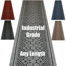 Hallway Stairs Mat Carpet Runner Durable Anti Slip Latex Back Strong Tough