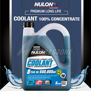 Nulon Blue Concentrated Coolant 5L for BMW 6 7 Series 735 745 740i G11 M3 6 X3