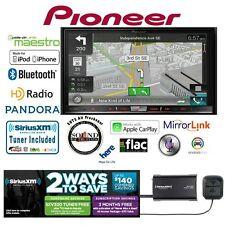 """Pioneer AVIC-8200NEX 7"""" GPS DVD Receiver w/ Satellite Radio SiriusXM SXV300V1"""