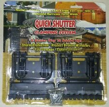 QUICK CLAMPING WINDOW PROTECTION hardware shutters board HURRICANE STORM LOCK