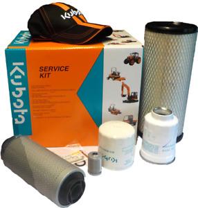 GENUINE KUBOTA KX36-3 & KX41-3 Service Kits **OPTIONAL OIL**