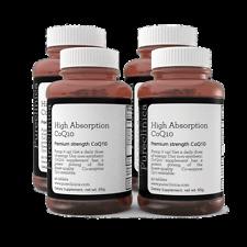 360 X 300mg CoQ10 X 12 meses de suministro con la vitamina C y E + Extracto de Pimienta Negra