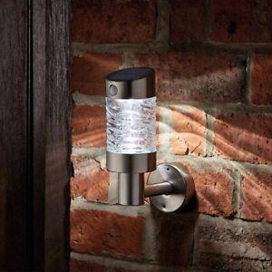 LED PIR Motion Sensor 10m Cordless Solar Security Porch Wall Light Door Garage