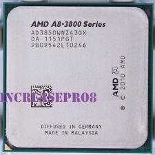 AMD A8-Series A8-3850 Processor 2.9GHz AD3850WNZ43GX Socket FM1 CPU 100W 2900MHz