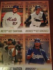 2012 Topps Update Blockbusters Insert Set 30 Cards Griffey Ruth