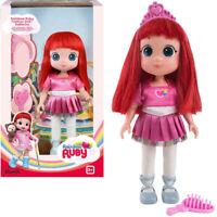 Rainbow Ruby Doll Ruby Ballerina Toy Action Figurine 20cm