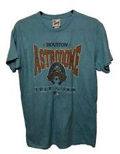 Houston Astros 47 Brand Vintage Tubular Retro Turquoise MLB T-Shirt Mens Medium