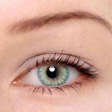 4PCS Lady Cosmetic Contact Lenses Circle Big Eyes Makeup Beauty Yearly Use -