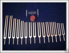 23 Tuning Forks- 7 chakras + 11 Planetary + 5 Sharps wholesale lot+Free Activatr