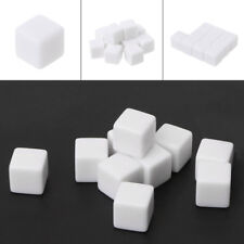 10Pcs D6 Dice 12mm Die Six Sided Table Gaming Dice Blank For Role Playing Toy