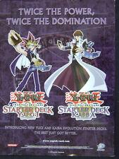 "Yu Gi Oh TCG Starter Deck Promotional Poster Yugi Kaiba Evolution 24""x18"""