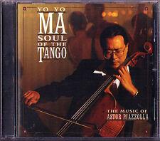 Yo-Yo MA: PIAZZOLLA Soul of the Tango Libertango CALANDRELLI Remembrances CD