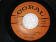 """TERESA BREWER """"HAVE YOU EVER BEEN LONELY / WHEN DO YOU LOVE ME"""" 45"""
