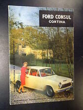 Ford Consul Cortina uitgave ANWB 1964