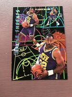 1994-95 Fleer Basketball: Triple Threats - KARL MALONE - Utah Jazz