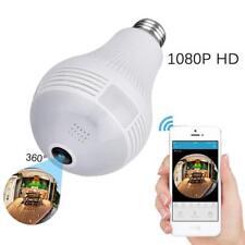 Spionage Kamera Glühbirne Überwachung Gadget mit Audio Sound WiFi Home