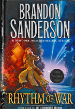 RHYTHM OF WAR BRANDON SANDERSON SIGNED 1ST EDITION  HARDCOVER 2020