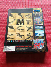"Retro ""Birds of Prey"" Big Box IBM PC Game"