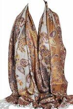Écharpes et châles étoles avec des motifs Cachemire pour femme   eBay 4f079fa7e83