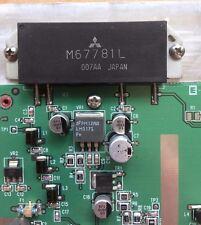 Satellite/ Ham radio Transmitter PCB M67781L 40 watt max output    Z760