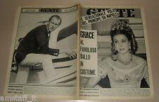 GENTE 1966/23=GRACE KELLY=VITTORIO EMANUELE DI SAVOIA=CARLO BETOCCHI=SAETTI B.