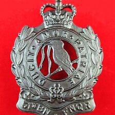 AUSTRALIAN ARMY 51st BATTALION THE FAR NORTH QUEENSLAND REGIMENT HAT BADGE   -01
