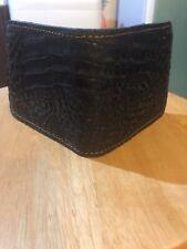 Men's Alligator Skin Bifold Wallet