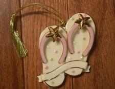 Lenox My Sumertime Flip Flop Ornament-Rare-Nib