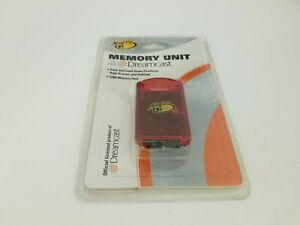 NEW Factory sealed RED Mad Catz 128K Memory card  for Sega Dreamcast G68
