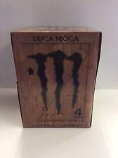 Monster Java Loca Moca 11oz Can 4PK . Coffee & Energy .1 Full 4PK Lot.