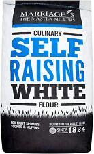 Culinary Self Raising White Flour 16kg sack Marriage's
