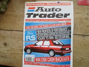 AUTO TRADER RS COSWORTH WIN A COSWORTH ON COVER 20 - 26 SEPTEMBER 1990