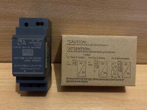 Mean Well HDR-30-24 Ultra Slim DIN Rail PSU